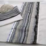 Tallit Rough Grey