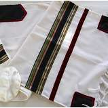 Man's Tallit, Colored Stripes