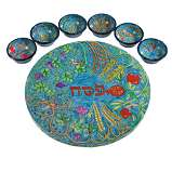 The Seven Species Seder Plate